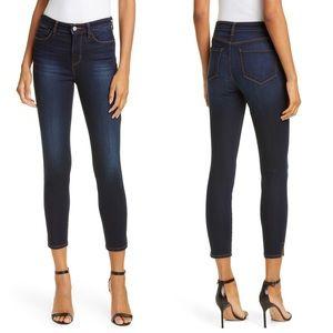 L'AGENCE avery skinny slit ankle stretch jeans